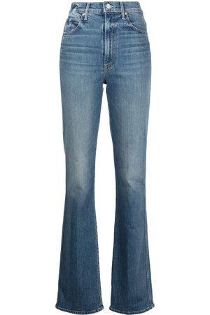 MOTHER Dame High waist - High-rise straight-leg jeans