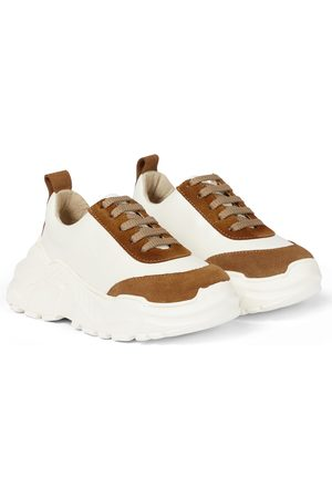 BONPOINT Leather sneakers