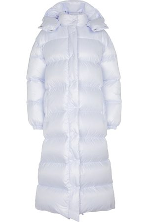 Miu Miu Dame Dunkåper - Quilted nylon down coat