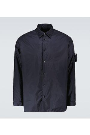 Prada Re-Nylon overshirt with pocket