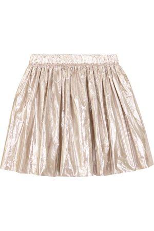 Bonpoint Suzon cotton-blend taffeta skirt