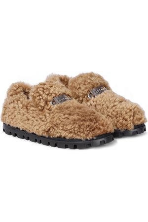 Miu Miu Shearling loafers