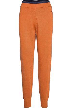 Bobo Choses Rib Knitted Pants Uformelle Bukser Oransje