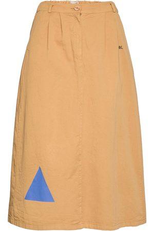 Bobo Choses Geometric Print Midi Skirt Knelangt Skjørt Beige
