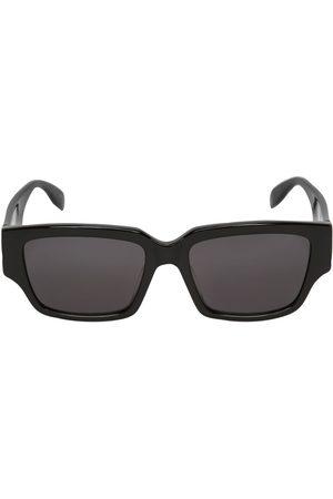 Alexander McQueen Squared Acetate Sunglasses