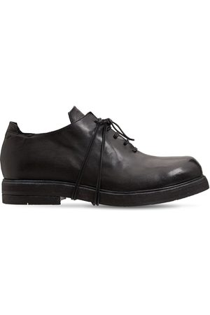 ERNESTO DOLANI Bruto Leather Lace-up Derby Shoes
