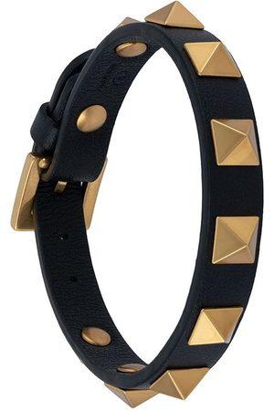 VALENTINO GARAVANI Herre Armbånd - Rockstud leather bracelet