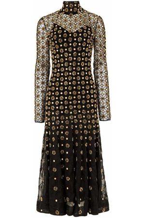 TEMPERLEY LONDON Dame Hverdagskjoler - Crossbone Lattice Dress