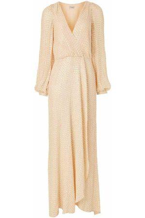 TEMPERLEY LONDON Dame Maxikjoler - Billie Wrap Dress