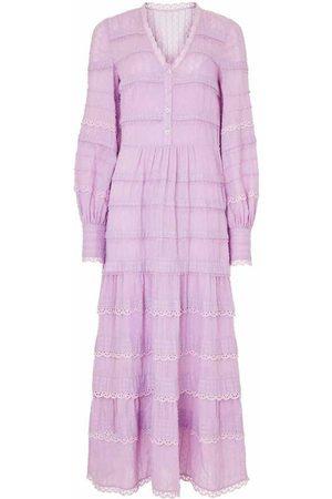 TEMPERLEY LONDON Dame Maxikjoler - Edith V-neck Dress