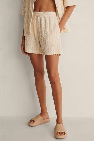 NA-KD Dame Shorts - Økologisk Terry Cloth Shorts