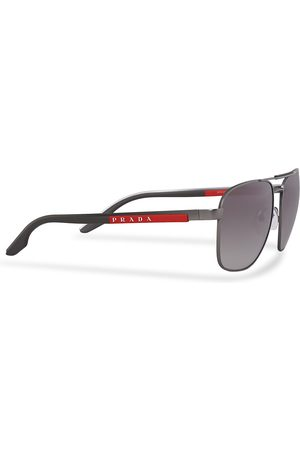 Prada Linea Rossa 0PS 53XS Sunglasses Silver