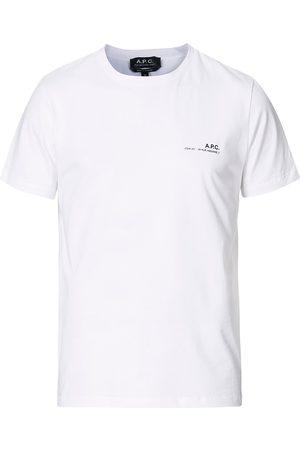 A.P.C. Herre Kortermede - Item Short Sleeve T-Shirt White