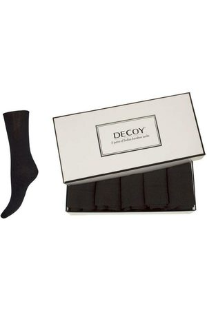 Decoy 5-pack ankle sock bamboo