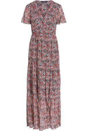 SET 73002 crepe print jurk bloemen