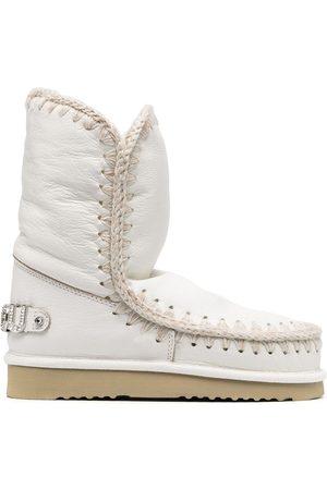 Mou Dame Vintersko - Embellished logo snow boots