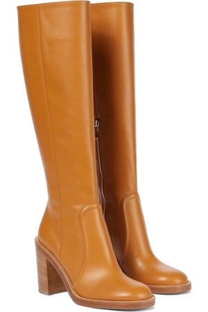 Gianvito Rossi Conner knee-high leather boots