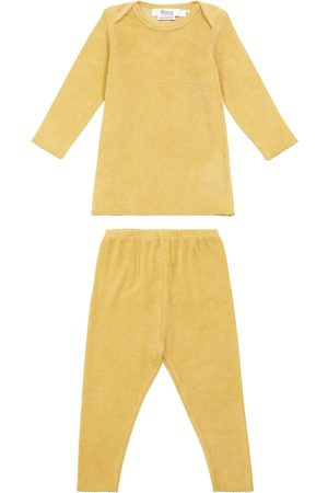 BONPOINT Baby cotton-blend top and pants set