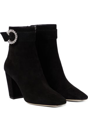 Jimmy Choo Myan 85 suede ankle boots