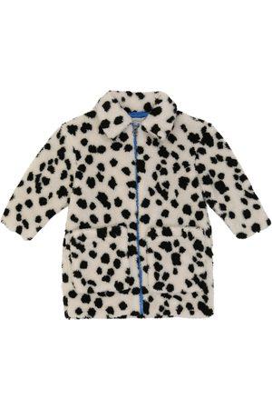 Stella McCartney Dalmatian faux shearling coat