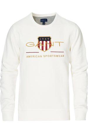GANT Herre Sweatshirts - Archive Shield Sweatshirt Eggshell