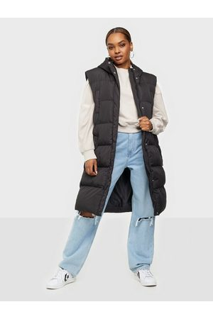 Missguided Dame Vester - Recycled Longline Padded Gilet