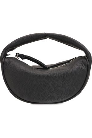 By Far Baby Cush Flat Leather Top Handle Bag