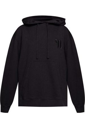 Nanushka Logo-embroidered hoodie