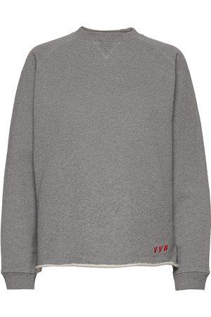 Victoria Victoria Beckham Dame Sweatshirts - Washed Sweatshirt Sweat-shirt Genser