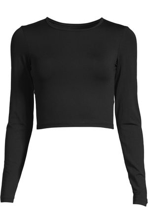 Casall Dame Treningsgensere - Women's Crop Long Sleeve
