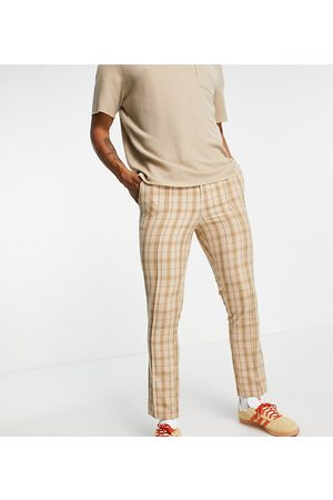 Reclaimed Inspired couture suit trouser in check-Multi