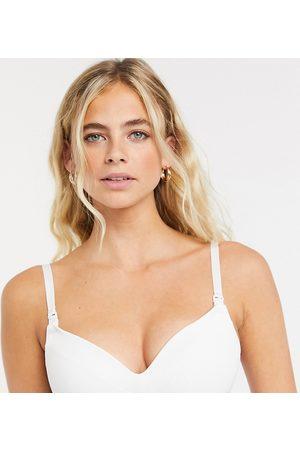 Lindex Moulded nursing bra in white