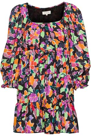 By Malina Carmelia Dress Kort Kjole Multi/mønstret