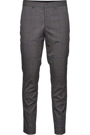 SELECTED Slhslim-Timelogan Grey Mulchk Trs B Dressbukser Formelle Bukser