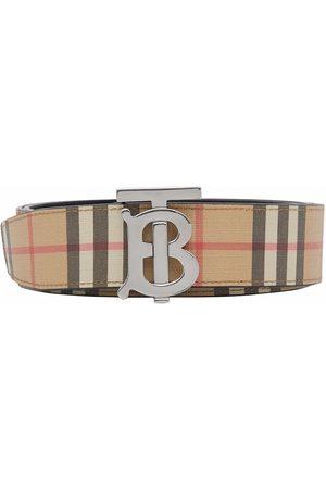 Burberry Herre Belter - Monogram-buckle belt