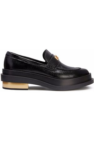 Giuseppe Zanotti Dame Loafers - Malick logo-plaque loafers