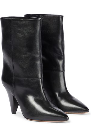 Isabel Marant Locky leather mid-calf boots