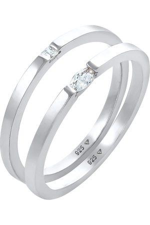 Elli Smykkesett 'Kristall Ring