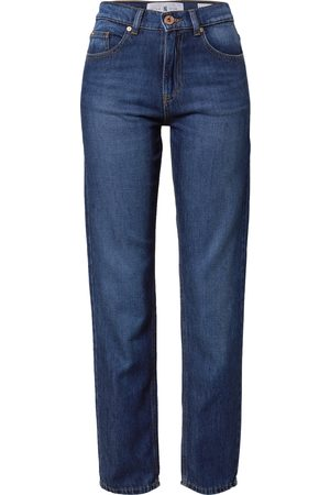 Yellow Blue Denim Jeans 'Marry