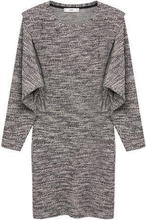 MANGO Dame Strikkede kjoler - Strikkekjole 'Opra