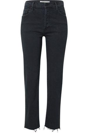 Mother Jeans 'THE SCRAPPER CUFF
