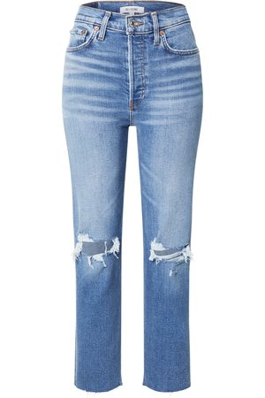 RE/DONE Dame Straight - Jeans