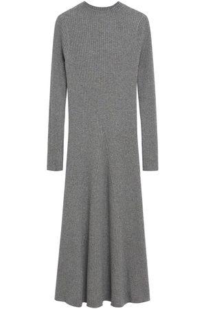 MANGO Dame Strikkede kjoler - Strikkekjole 'Flus