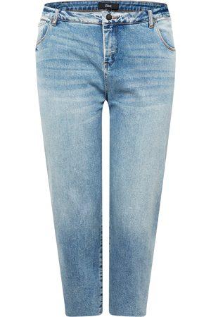 Zizzi Dame Straight - Jeans 'VERA