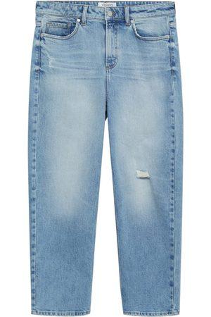 MANGO Dame Straight - Jeans 'Elia