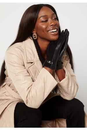 BUBBLEROOM Valorie leather gloves Black S