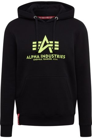 Alpha Industries Sweatshirt 'Basic Hoody Neon Print