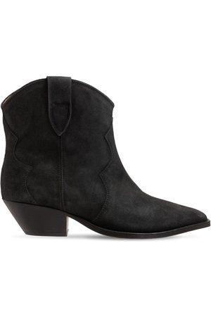 Isabel Marant Dame Skoletter - 40mm Dewina Suede Ankle Boots