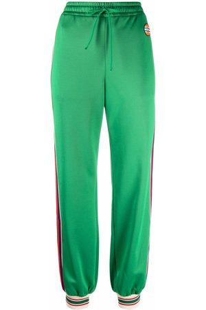 Gucci Dame Joggebukser - Side-stripe track pants