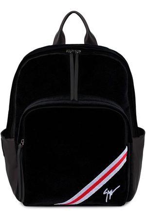 Giuseppe Zanotti Herre Ryggsekker - Chalmer velvet backpack